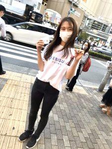 街頭サンプリング@恵比寿