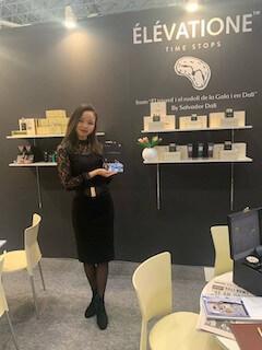 国際 化粧品展 COSME TOKYO2020英語対応ブース@幕張メッセ