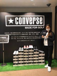 CONVERSE MADE FOR GOLF@スイング碑文谷